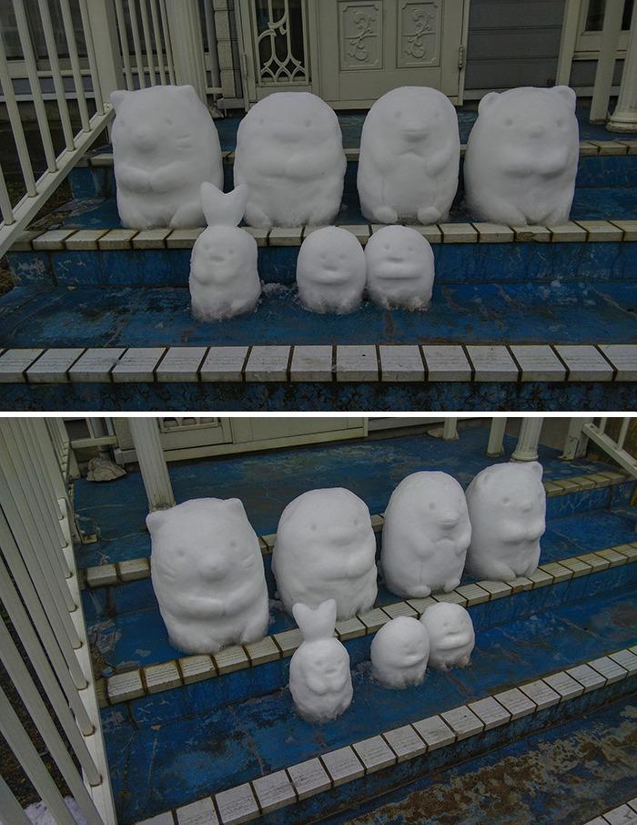 arte na neve