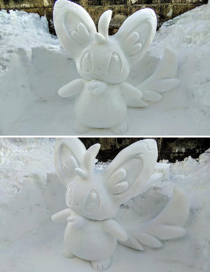 arte neve linda