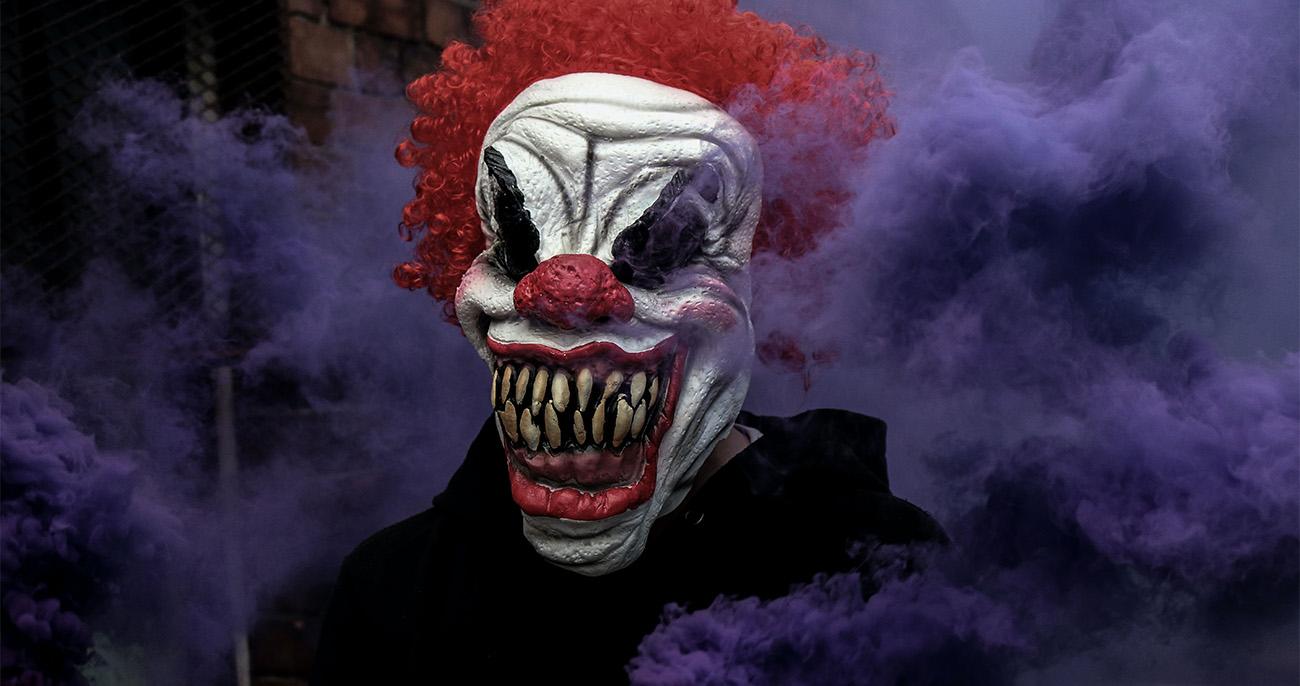 Fobia de Palhaços Coulrofobia
