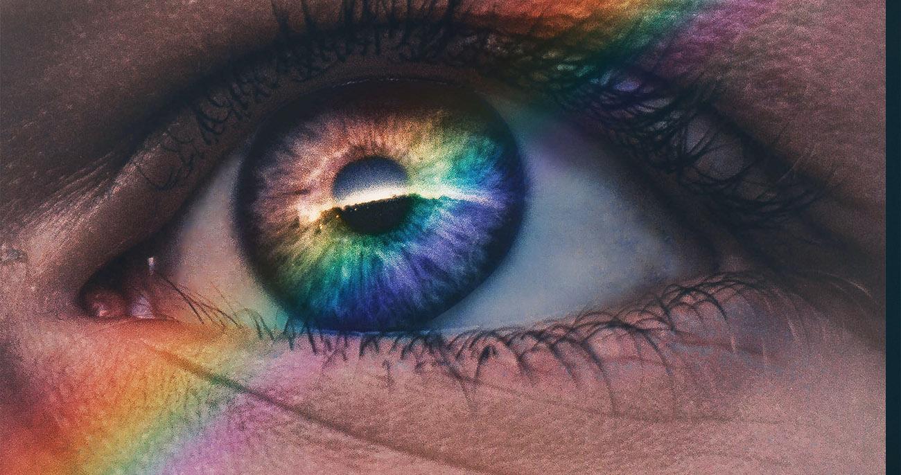 olho e cores